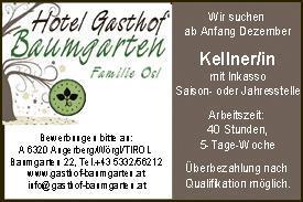 Job Gasthaus Baumgarten AG133